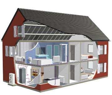 pompy ciepła dla budynków zmodernizowanych
